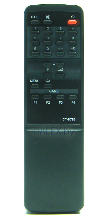 Пульт Toshiba CT-9782 GAME (TV)