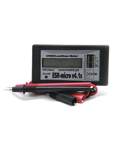 ИЗМЕРИТЕЛЬ ЕМКОСТИ И ESR электролитических конденсаторов ESR-micro v4.1s.